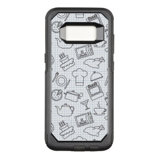 Kitchen Pattern 4 OtterBox Commuter Samsung Galaxy S8 Case