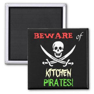 Kitchen Pirates Magnet
