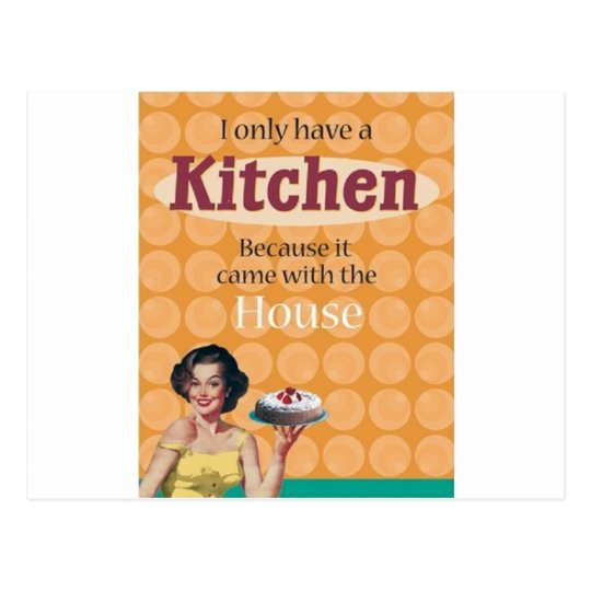 Kitchen Postcard