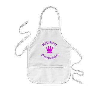 Kitchen Princess fun apron for kids