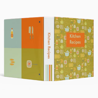 Kitchen Recipes Binder
