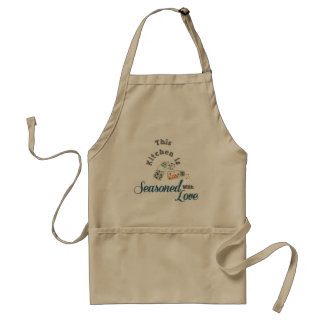 Kitchen Seasoned With Love Apron