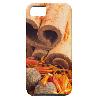 Kitchen spices and herbs close-up iPhone 5 cases