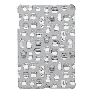 Kitchen Tea Pot Teapot Grey Simple / Andrea Lauren Cover For The iPad Mini