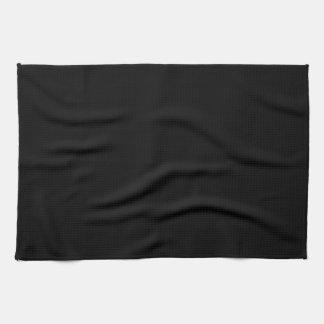 Kitchen / Tea Towel: Plain Black Kitchen Towel