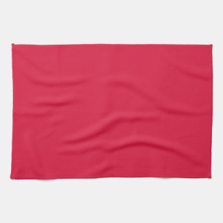 Kitchen / Tea Towel: Plain Crimson Kitchen Towel