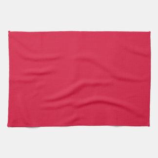 Kitchen / Tea Towel: Plain Crimson Towels