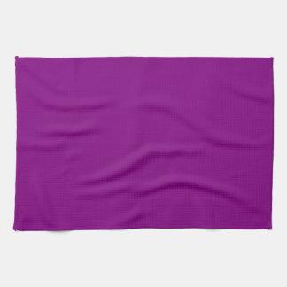 Kitchen / Tea Towel: Plain Purple Kitchen Towel
