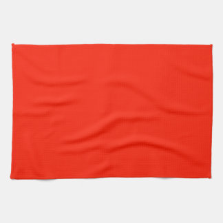 Kitchen / Tea Towel: Plain Scarlet Kitchen Towel