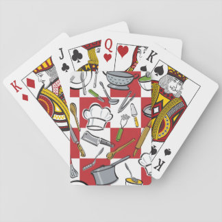 Kitchen Tools Check Poker Deck