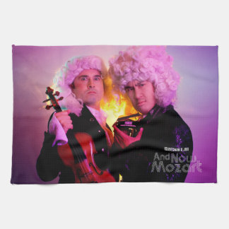 Kitchen Towel: And Now Mozart Kitchen Towel