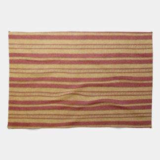 Kitchen Towel. Faded Horizontal Stripes. Kitchen Towel