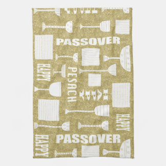 """Kitchen Towel """"Happy Passover/Pesach """""""