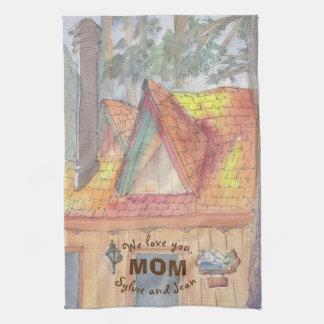 """Kitchen Towel """"Lake Arrowhead"""""""