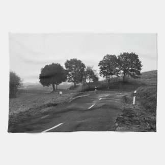 Kitchen towel lonely highway
