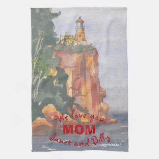 "Kitchen Towel ""Ocean View"""