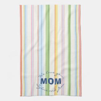 """Kitchen Towel """"Picnic Stripes"""""""