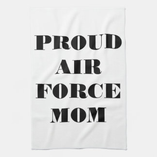 Kitchen Towel Proud Air Force Mom
