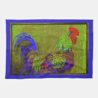 Kitchen Towel Retro Rooster