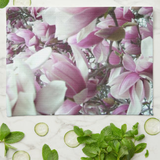 Kitchen Towel - Saucer Magnolia