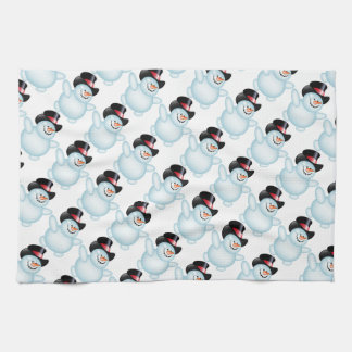 Kitchen Towel/Snowman Hand Towel