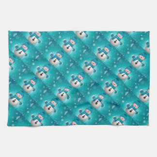 Kitchen Towel/Snowman Kitchen Towel