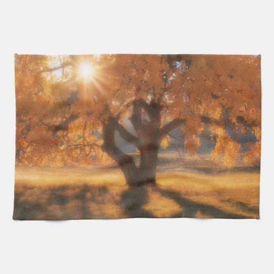 Kitchen Towel Western Autumn Tree