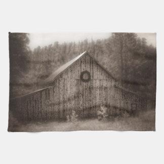 Kitchen Towel Western Barn