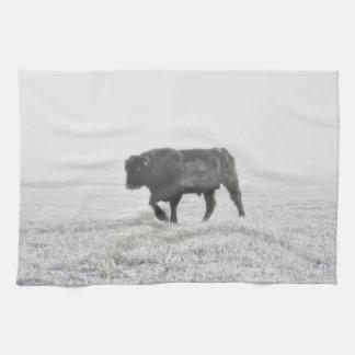 Kitchen Towel Western Bull