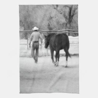 Kitchen Towel Western Cowboy