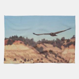 Kitchen Towel Western Hawk Wildlife