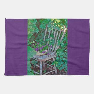 Kitchen Towel Western Petunia Chair