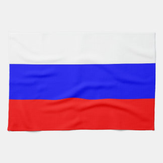 Kitchen towel with Flag of Russia