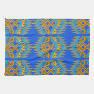 Kitchen Towel with Southwestern Geometrics