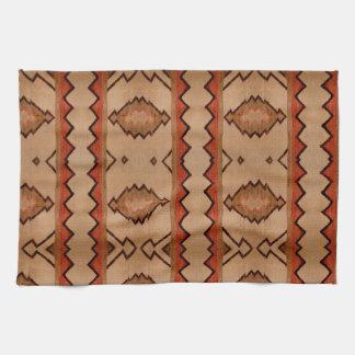 Kitchen towel woven rug design southwest western
