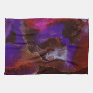 Kitchen Towels-Abstract Stormy Weather Kitchen Towel