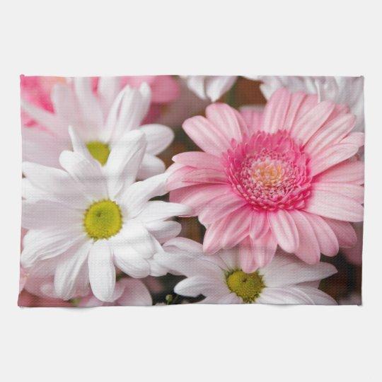Kitchen Towels - Daisy Gerbera Flowers