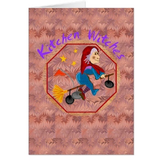 Kitchen Witch Cards