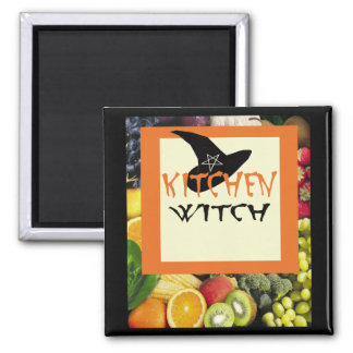 Kitchen Witch Magnet