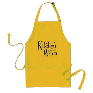 Kitchen Witch Standard Apron