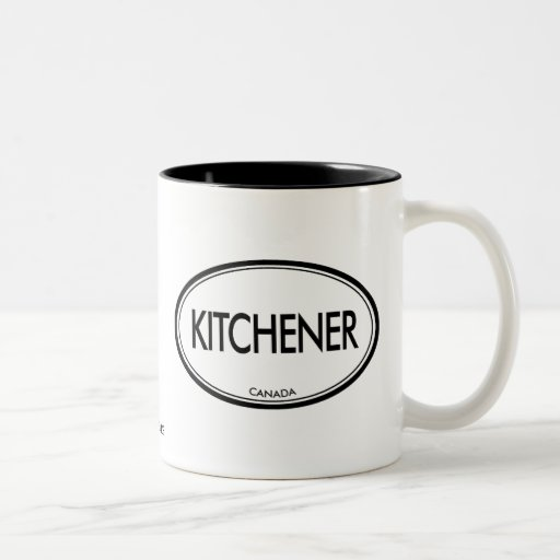 Kitchener, Canada Two-Tone Coffee Mug