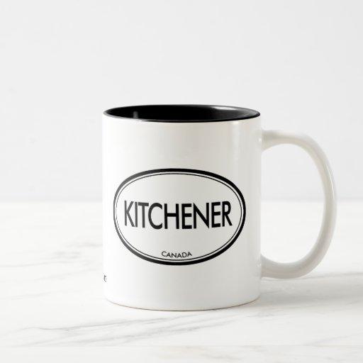 Kitchener, Canada Two-Tone Coffee Mug