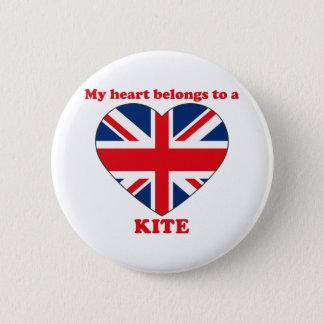 Kite 2 Inch Round Button