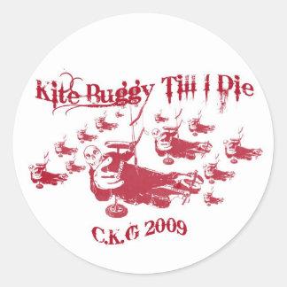 Kite Buggy Sticker