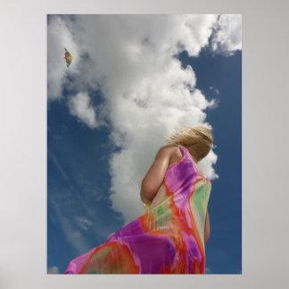 Kite Fantasy Poster