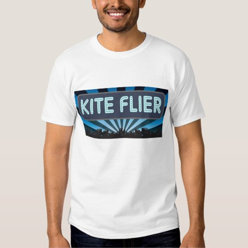 Kite Flier Marquee T Shirt