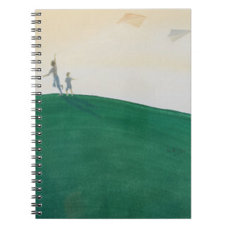 Kite Flying 2000 Spiral Notebooks