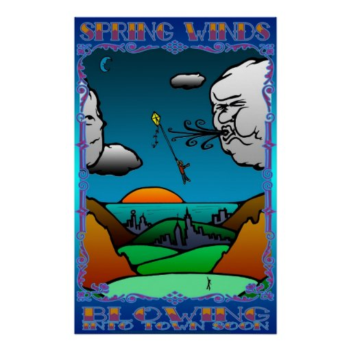 Kite Flying boy Posters