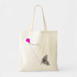 Kite flying Budget Tote Bag