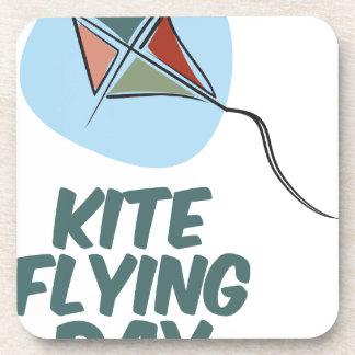 Kite Flying Day - 8th February Coaster